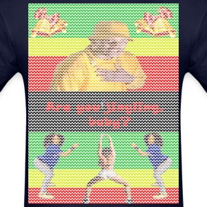 jingling baby twerking christmas sweater - Men's T-Shirt