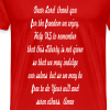 prayer for freedom - Men's Premium T-Shirt
