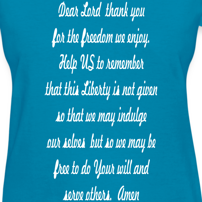 prayer for freedom