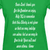 prayer for freedom - Women's T-Shirt