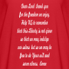 prayer for freedom - Women's Flowy T-Shirt