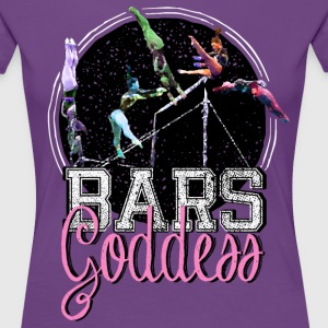 Bars Goddess T-Shirts - Women's Premium T-Shirt
