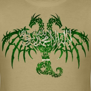SAUDI ARABIA FLAG DRAGON T-Shirts - Men's T-Shirt