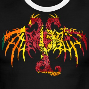 SIR LANKA FLAG DRAGON 2 T-Shirts - Men's Ringer T-Shirt