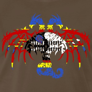 SWAZILAND FLAG DRAGON 2 T-Shirts - Men's Premium T-Shirt