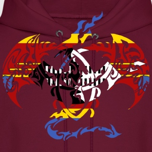 SWAZILAND FLAG DRAGON Hoodies - Men's Hoodie