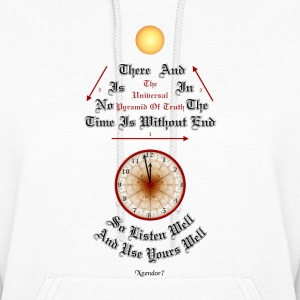 Time Is Without End Womens Hooded Sweatshirt - Women's Hoodie