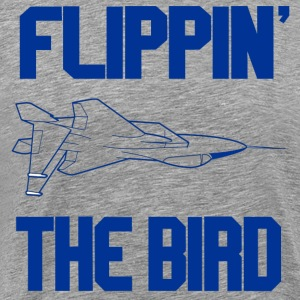 Top Gun - Flippin' The Bird T-Shirts - Men's Premium T-Shirt