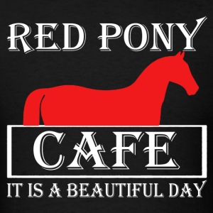 Red Pony Cafe Shirt - Men's T-Shirt