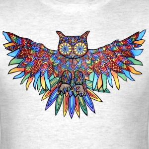 Owl colored - Men's T-Shirt