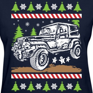 Jeep Wrangler Christmas T-Shirts - Women's T-Shirt