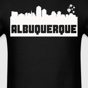 Albuquerque New Mexico Skyline Silhouette - Men's T-Shirt