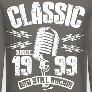 Classic Since 1999 Long Sleeve Shirts - Crewneck Sweatshirt