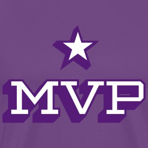 MVP Purple T-shirt - Men's Premium T-Shirt