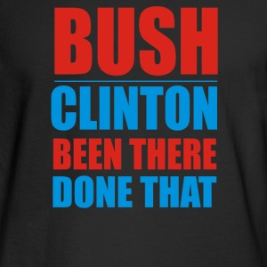 Bush Clinton Large - Men's Long Sleeve T-Shirt