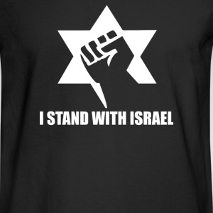 I Stand with Israel - Men's Long Sleeve T-Shirt