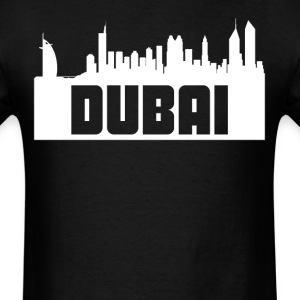 Dubai United Arab Emirates Skyline Silhouette - Men's T-Shirt