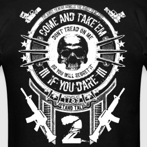 Gun Rights - Come And Take'em White T-Shirts - Men's T-Shirt