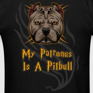 Pit Bull - My Patronus Is A Pitbull T-Shirts - Men's T-Shirt