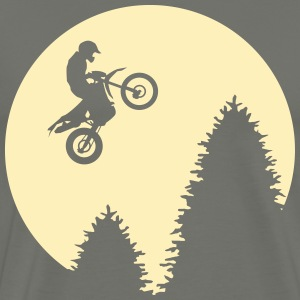 Enduro jump moon Shirt - Men's Premium T-Shirt