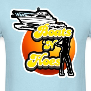 Boats N Hoes.  - Men's T-Shirt
