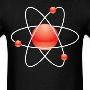 Atom Classic Science Nerd Scientist - Men's T-Shirt