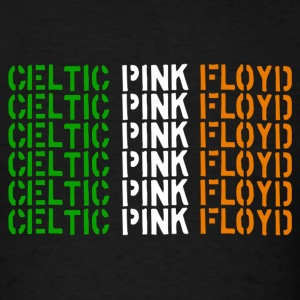 Celtic Pink Floyd flag logo T-shirt - Men's T-Shirt