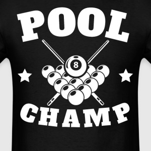 Pool Champ Retro Billiards - Men's T-Shirt
