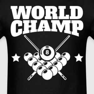 Retro World Champ Billiards Champion - Men's T-Shirt