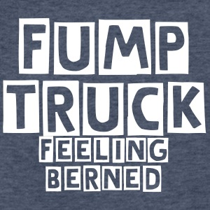 FUMP TRUCK - Fitted Cotton/Poly T-Shirt by Next Level