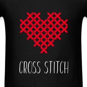 Cross Stitch - Men's T-Shirt
