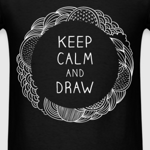 Keep calm and draw - Men's T-Shirt
