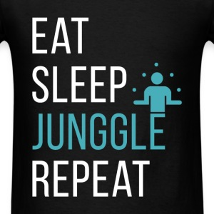 Eat, sleep, junggle, repeat - Men's T-Shirt