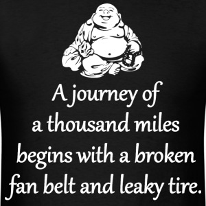 A Journey Of A Thousand Miles T-Shirts - Men's T-Shirt