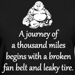 A Journey Of A Thousand Miles T-Shirts - Women's T-Shirt