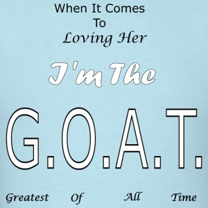 Loving GOAT (Her) - Men's T-Shirt