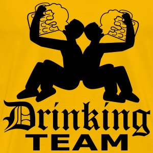 Drinking team friends team crew huge huge thirst l T-Shirts - Men's Premium T-Shirt