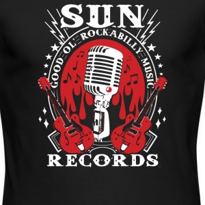 Sun Records Steady Mens Black Rockabilly Music - Men's Long Sleeve T-Shirt by Next Level