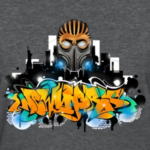 2.ezy - Design for New York Graffiti Color Logo -  - Women's T-Shirt