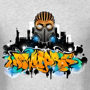 2.ezy - Design for New York Graffiti Color Logo -  - Men's T-Shirt