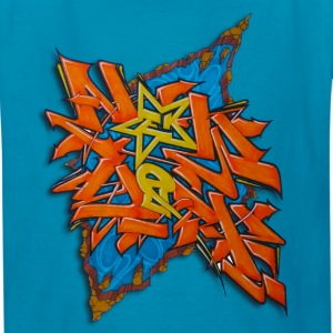 artgomez14 - Design for New York Graffiti Color Lo - Kids' T-Shirt
