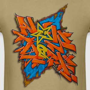 artgomez14 - Design for New York Graffiti Color Lo - Men's T-Shirt