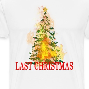 last_christmas_ - Men's Premium T-Shirt