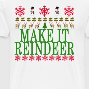 make_it_reindeer_ - Men's Premium T-Shirt