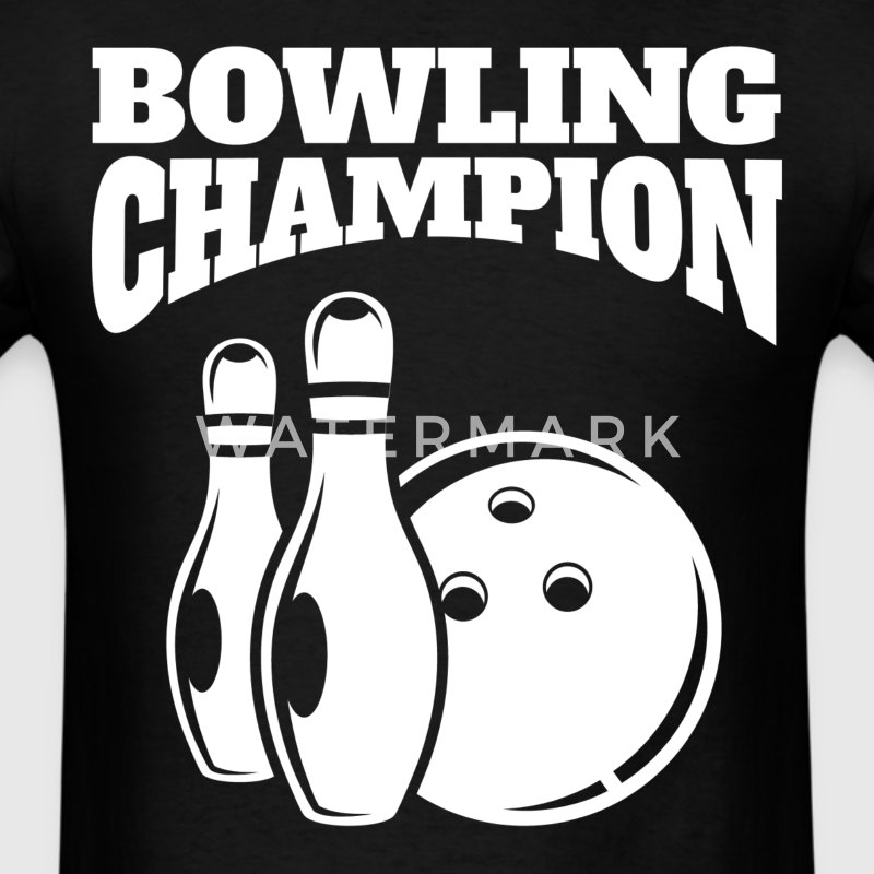 Retro Bowling Champion - Men's T-Shirt