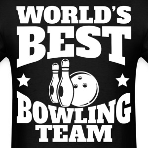 World's Best Bowling Team Retro Bowling - Men's T-Shirt