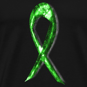 Lyme Disease Awareness Ribbon [3] Men's Premium T- - Men's Premium T-Shirt