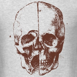 skull illustration - Men's T-Shirt