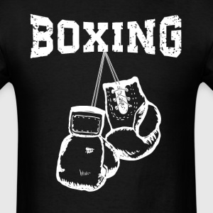Retro Boxing Gloves Boxing - Men's T-Shirt