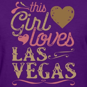This Girl Loves Las Vegas T-Shirts - Women's T-Shirt